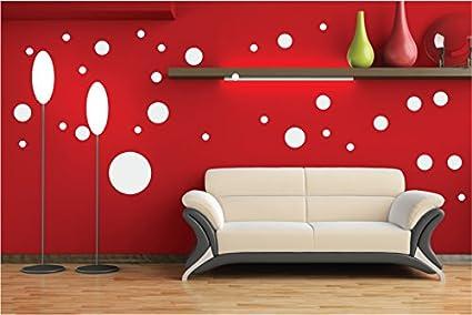 Pareti Cameretta A Pois : Adesivi pois per decorazione da parete camera bambini stickers