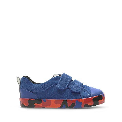 Femme de Bleu pour Lacets à Chaussures Bleu Ville Clarks aP6pY6