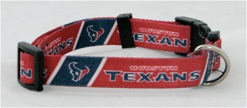 Hunter MFG Houston Texans Dog Collar, Extra Large, My Pet Supplies