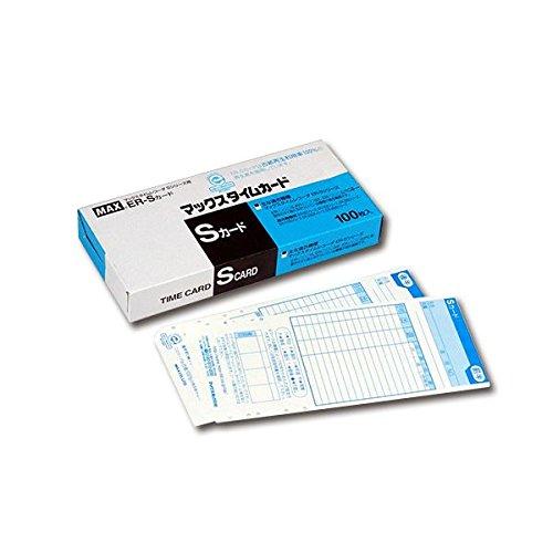 生活日用品 (まとめ買い) タイムレコーダ用カード ER-Sカード ブルー ER90060 1パック(100枚) 【×3セット】 B074JPNVVW