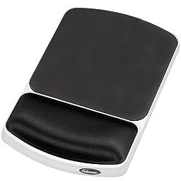 Fellowes 91741 Gel Wrist Rest Mouse Pad