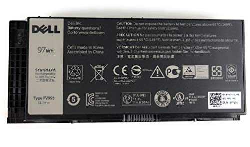 Dell Battery 97wh 11.1V - New Dell OEM Genuine Dell for sale  Delivered anywhere in USA