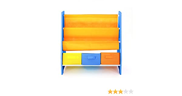 Kids organization furniture Playroom Amazoncom Bebe Style Premium Childrens Furniture Wooden Rack Sling Bookcase Shelf For Easy Organization And Storage Easy Assembly Home Kitchen The Spruce Amazoncom Bebe Style Premium Childrens Furniture Wooden Rack