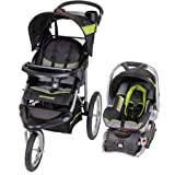 Lightweight Steel Frame Construction Millennium Jogger Travel System - Green by Baby Trend