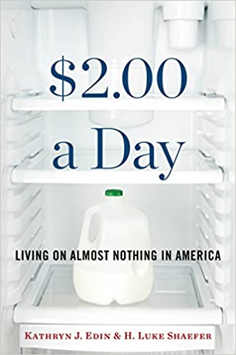 Image result for $2.00 a Day: Living on Almost Nothing in America