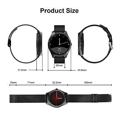 Diggro Bluetooth Smart Watch DI02 DI03 MTK2052C Heart Rate Monitor Pedometer Sleep Monitor Microphone Speaker Siri for Android iOS