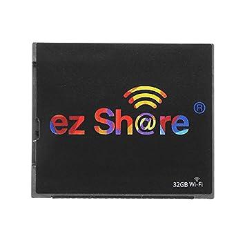 MASUNN Ez Share WiFi 32 GB C10 WiFi Switch CF Tarjeta De ...