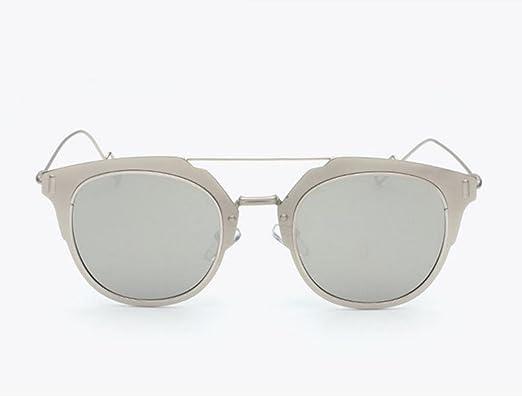 DZW Neue Mode Männer und Frauen Polarisierte Sonnenbrillen , silver