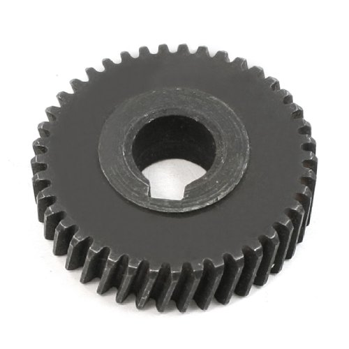 Aexit Angle Grinder Electrical equipment Helical Gear Wheel Replacement Part for for bosch 125 ()
