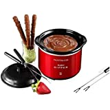 NOSTALGIA - MyMini. Fondue de Chocolate Electrico. Mini Dipping Pot