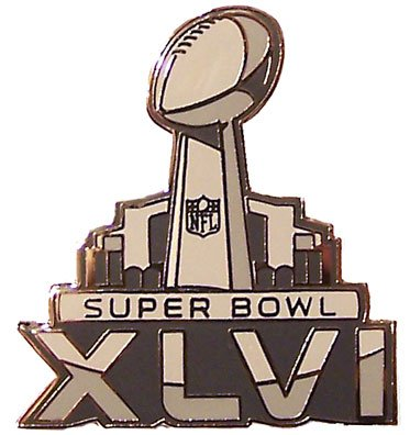Super Bowl 46 Pin 2012 New York Giants & New England Patriots - Indianapolis Bowl Super 2012