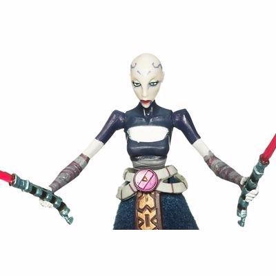 Star Wars Clone Wars Action Figure No. 15 Asajj -