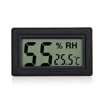 XT-XINTE LCD Mini Digital Luftfeuchtigkeit Temperatur: Amazon.de ...