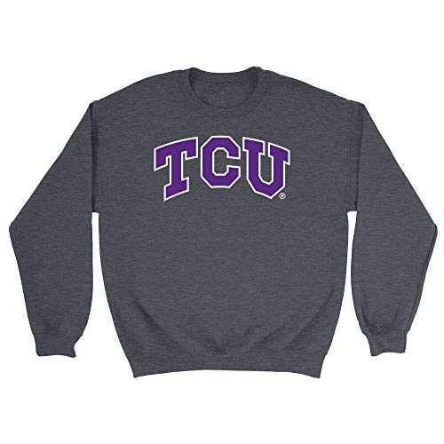 (Official NCAA Texas Christian University Horned Frogs - RYLTCU06, G.A.18000, DRK_HTR, L)