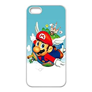 iPhone 4 4s Case Covers White Super Mario Bros X5YY