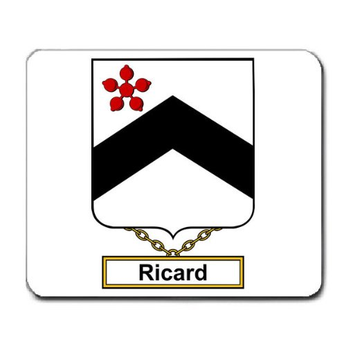 ricard-family-crest-coat-of-arms-mouse-pad