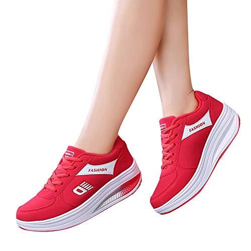 Estudiante Deportivo bbestseller Deportes Asfalto Montaña Zapatos Casual Running Para Zapatillas Sneakers Libre Aire Correr Rojo En De Calzado Fitness ExFgCnqT