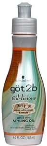 Got2b Oil-licious Styling Oil, 4 Fluid Ounce