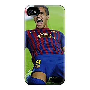 Buydiycase Snap On Hard Case Cover Fc Barcelona Alexis Sanchez Protector For Iphone 4/4s