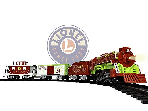 Lionel Home For The Holiday Battery-powered Model Train Set Ready to Play w/ Remote -