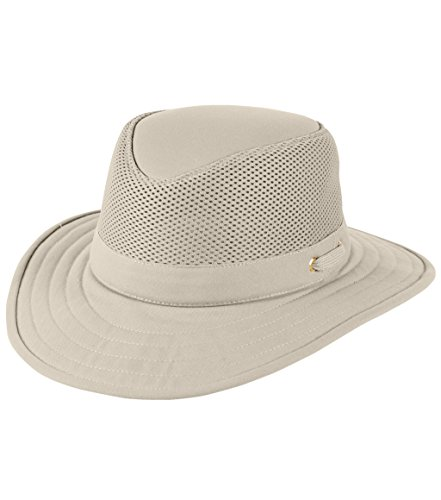 Tilley TM10 Wide Brim with Cooling Mesh UPF 50+ Hat, 7 1/4 or 22 3/4 in. by Tilley