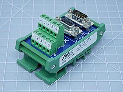Automation Direct Zip Link ZL-RTB-DB09 Remote Terminal Block DB 9