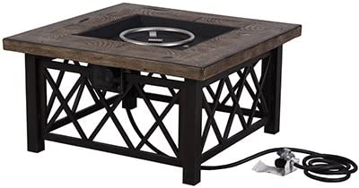 4S 68852 Aspen Gas Fire Pit Table, 50,000-Btu - Quantity 1