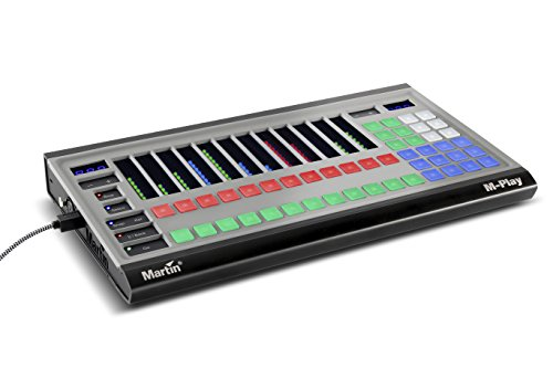 Dmx Console Control - Martin M-Play High-Performance Lighting Effects Control Console