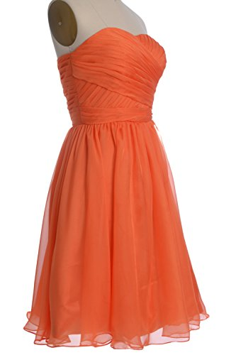 MACloth Gown Cocktail Party Strapless Dress Short Bridesmaid Green Wedding Women rqZY8Tr