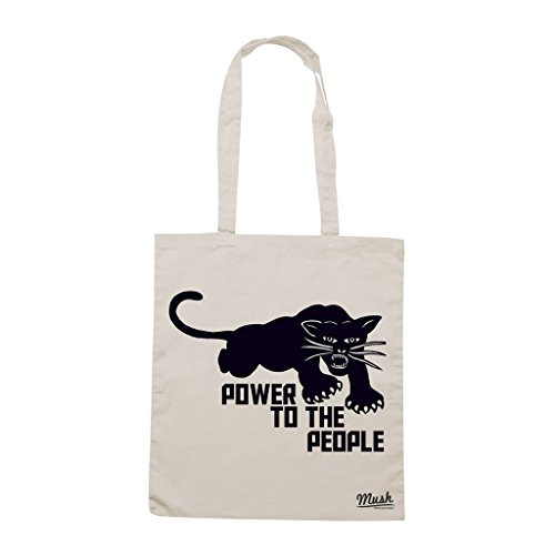 Comprar Borsa BLACK PANTHER POWER TO THE PEOPLE - Sand - FAMOSI by Mush Dress Your Style Elección De Descuento Elección En Línea bVCSRz