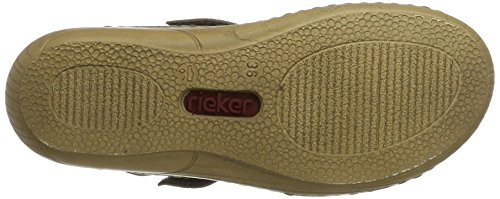 Rieker Dames V2379 Mules Grijs (staal / 42)