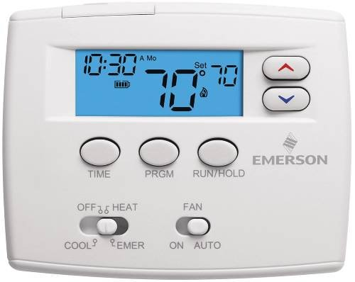 (White Rodgers 1F82-0261 Programmable Digital Thermostat, 2
