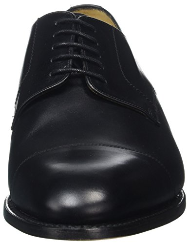 BARKER Herren Epping Derbys Black (Black Calf 17)