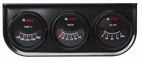 Bosch SP0F000024 Custom Line Triple Gauge