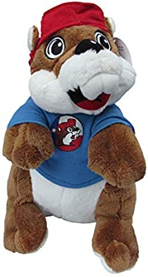 "12/"" tall Buc-ee/'s Santa Plush Stuffed Beaver"