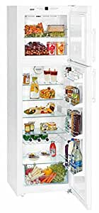 Liebherr CTN 3653 Premium NoFrost Independiente 310L A+ Color blanco - Frigorífico (Independiente, Color blanco, Derecho, LED, Acero, 310 L)