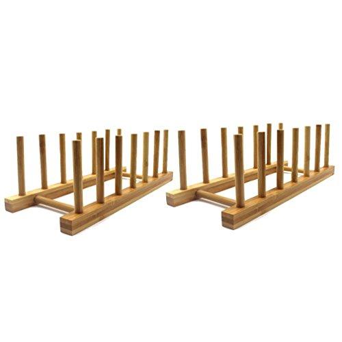 Dish Drying Rack Bamboo Dish Rack Pure Natural Bamboo Wooden