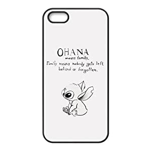 JIANADA Cute OHANA Brand New And High Quality Hard Case Coverr Protector For Iphone 5S