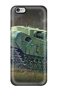 New Iphone 6 Plus Case Cover Casing(churchill Tank)
