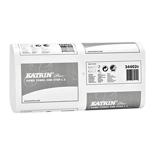 Katrin AHK500-WT Inclusive Folded Toilet Tissue Dispenser White