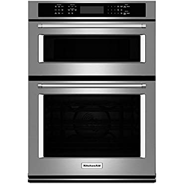 KitchenAid KOCE507ESS 27 Stainless Convection Wall Oven/Microwave Combo