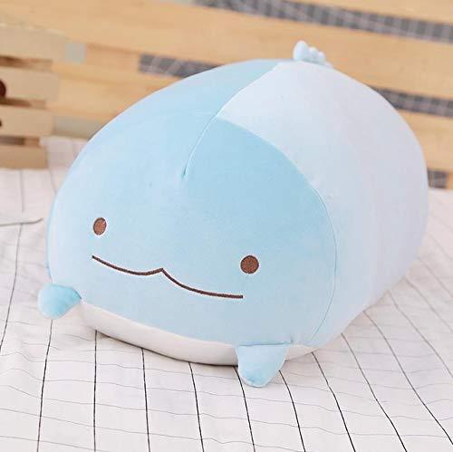 FairOnly 1pc 60cm San-X Corner Bio Pillow Japanese Animation Sumikko Gurashi Plush Toy Down Cotton Cartoon Kids Girls Valentine Gift Blue