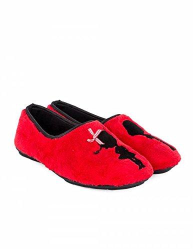 Costa Zapatillas Cerradas Rojas Bordado - Color - Rojo, Talla Zapatos Mujer - 37: Amazon.es: Zapatos y complementos