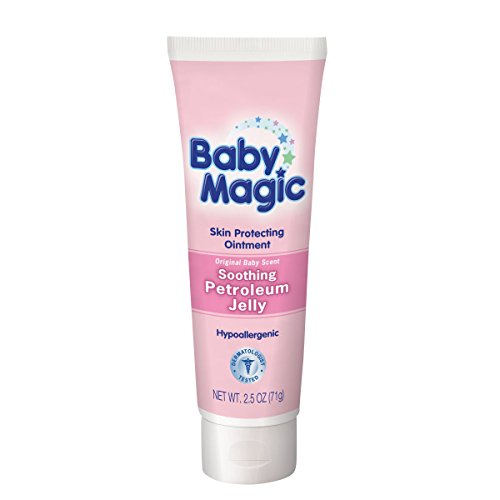 Baby Magic Soothing Petrolleum Jelly, Original Baby Scent, 2.5 Ounces (Pack of 2)