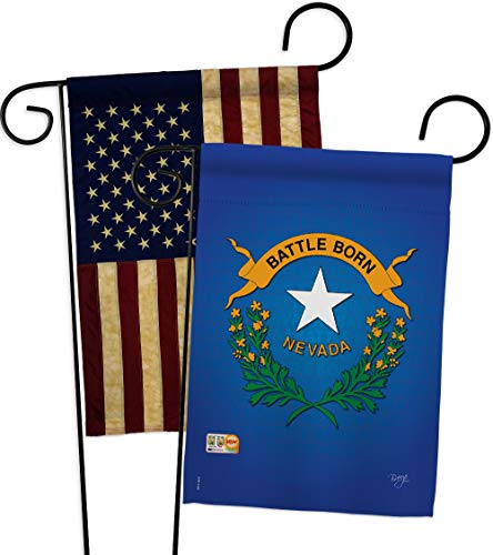 Breeze Decor GP108100-P3AA Nevada Americana States Impressions Decorative Vertical 13