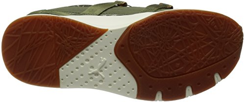 Puma Disc NC Swirl blace Sneaker Women Trainers 357289 01 green Olive