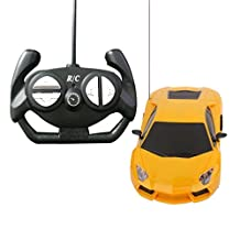 1:24 4CH Electric RC Remote Control Car Kids Toy Model Gift with LED Light