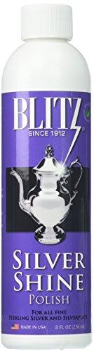 Blitz Silver Shine Polish Non-Toxic Environmentally Safe 8 ()