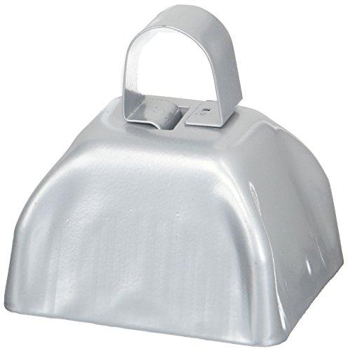 Metal Silver Bells (Silver Metal Cowbell)
