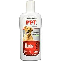 Grisi Shampoo para Perro, Antipulgas, 400 ml